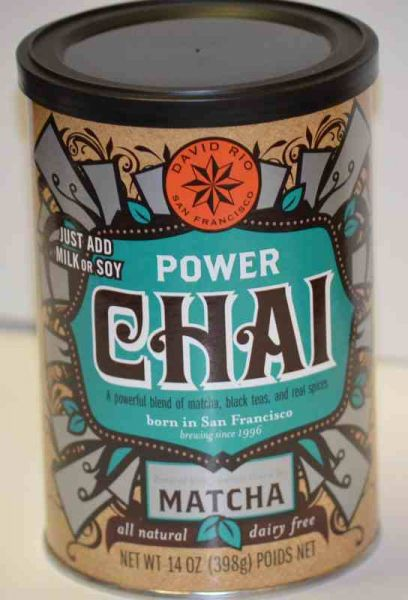David Rio Power Chai mit Matcha